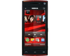 Nokia X6 Black-Red (Star)