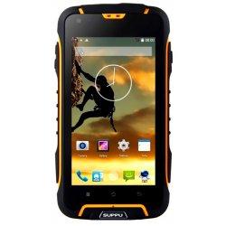 Suppu F6 Yellow (тонкий защищенный смартфон)