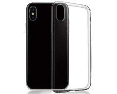 Силиконовый Чехол на iPhone X Black