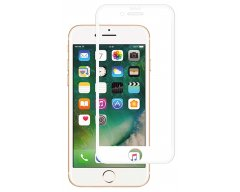 Защитное стекло Glass на iPhone 8 Plus 5D Белое