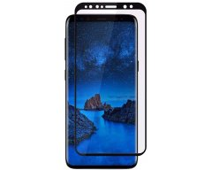 Защитное стекло Glass на Samsung Galaxy S9 Plus 5D Black