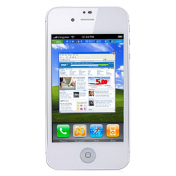 iPhone 4G W998 White Android 4