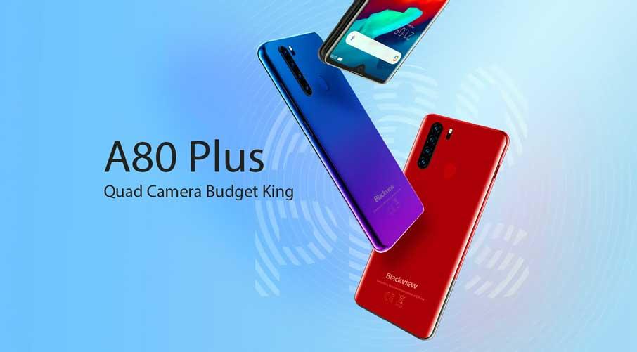 Blackview A60 Plus (4+64Gb) Blue