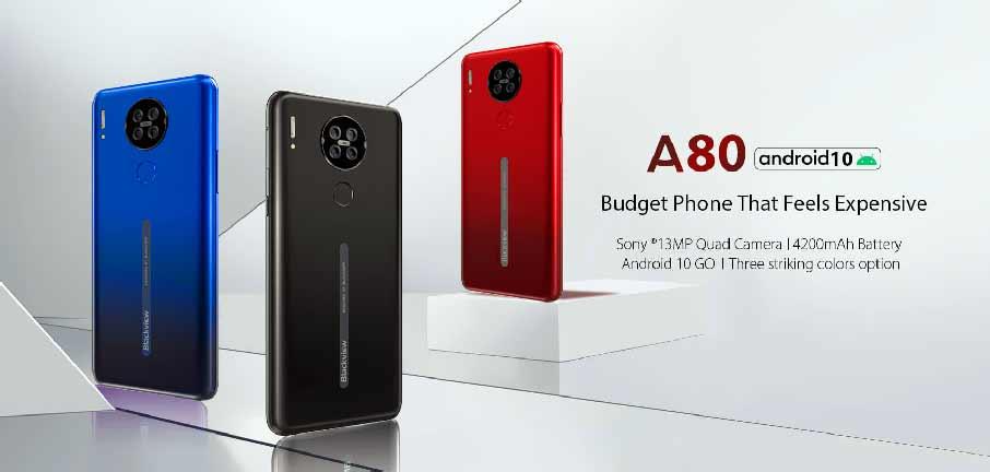 Blackview A80 (2+16Gb, АКБ 4200 мАч) Black