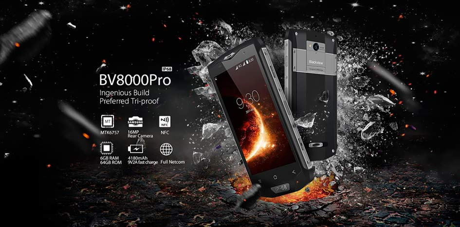 Blackview BV8000 Pro Grey
