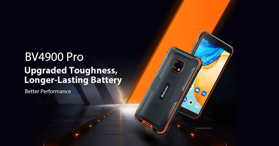 Blackview BV4900 Pro (4+64Gb) Orange