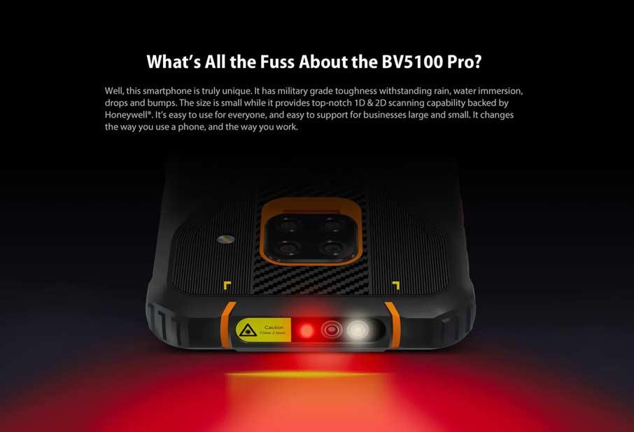 Blackview BV5100 Pro Orange
