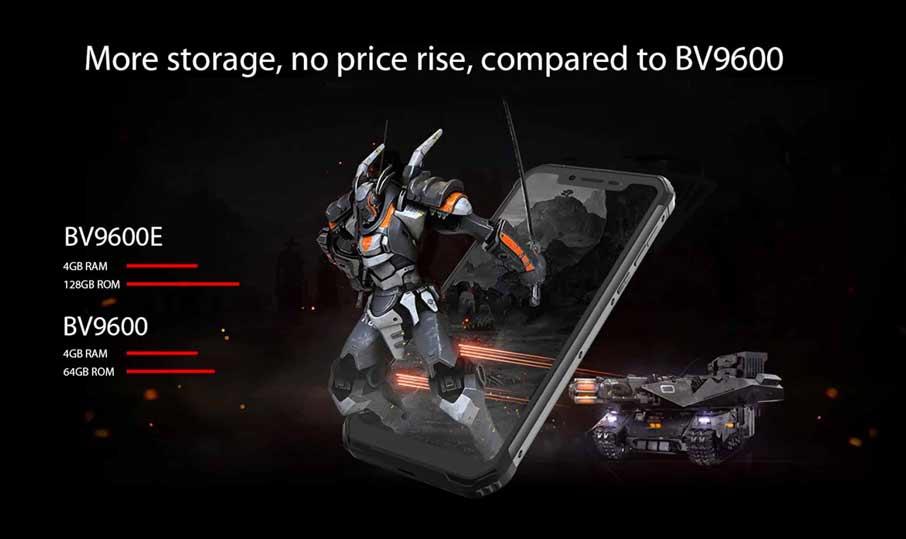Blackview BV9600E (4+128GB) Black