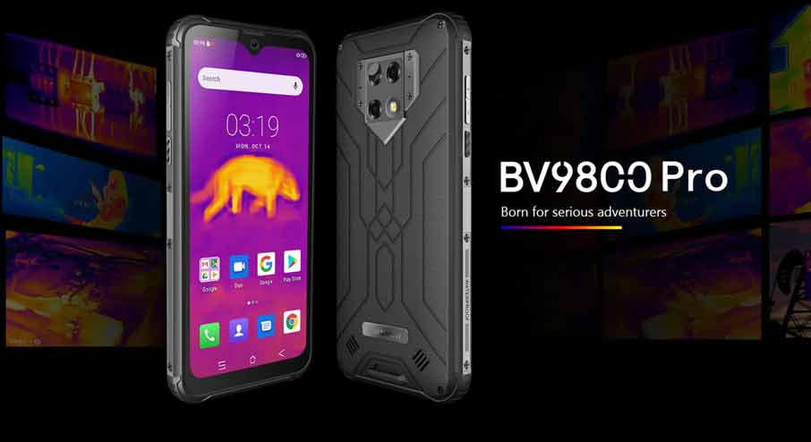 Blackview BV9800 Pro (6+128Gb, +тепловизор) Black