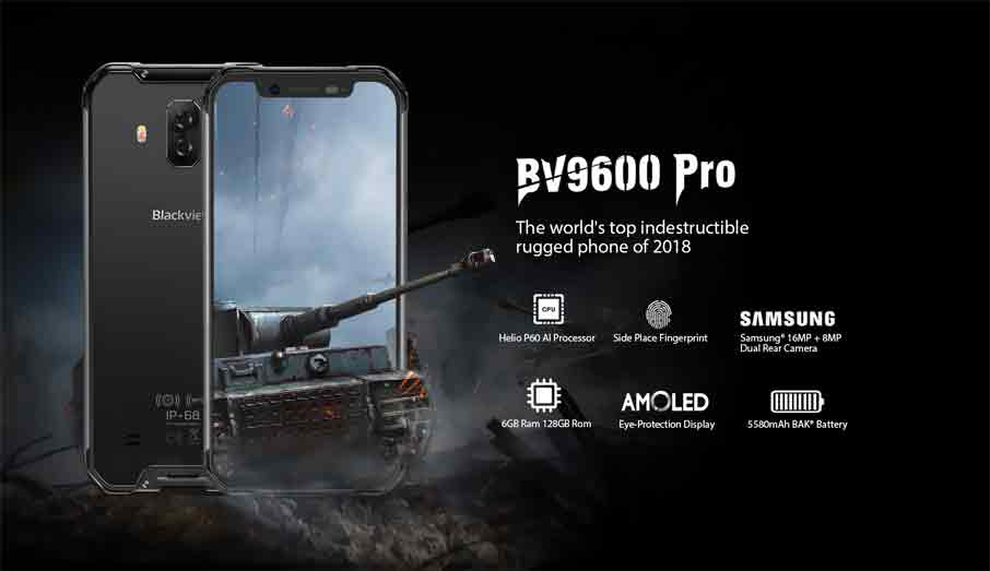 Blackview BV9600 (6+128GB) Pro Black