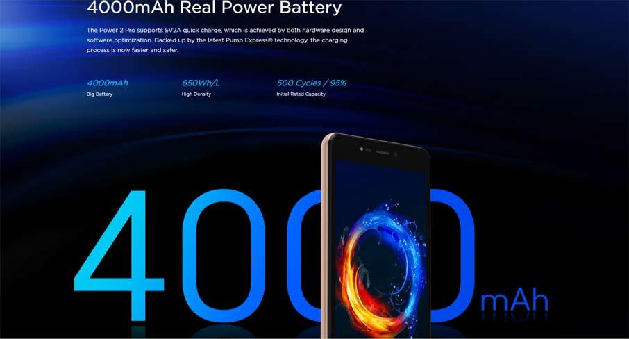 Leagoo Power 2 Pro (2+16Gb) Gold
