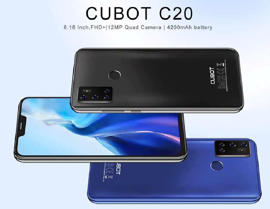 Cubot C20 (4+64Gb) Black