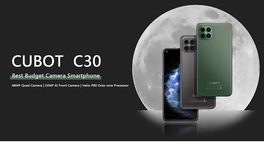 Cubot C30 (8+256Gb) Black