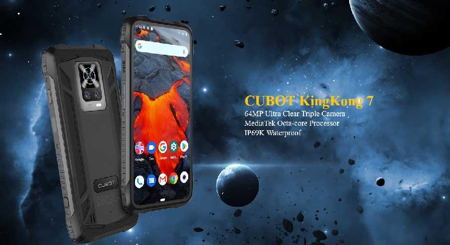 Cubot KingKong 7 (8+128Gb) Black