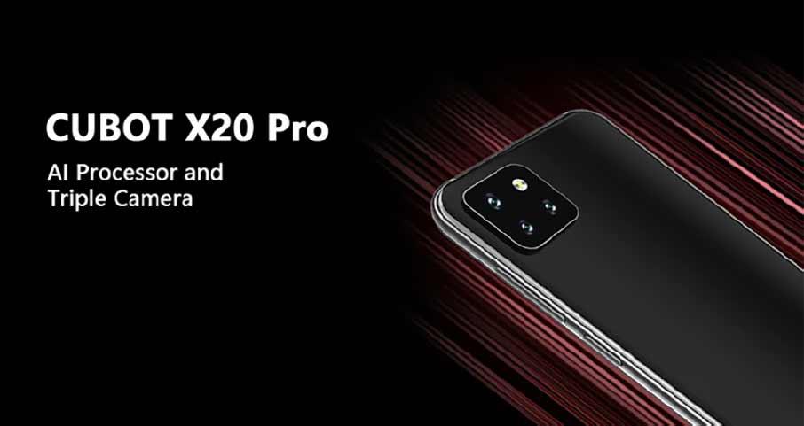 Cubot X20 Pro Black