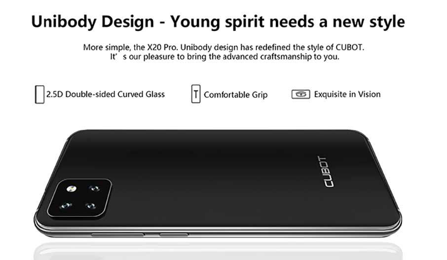 Cubot X20 Pro (6+128Gb) Black
