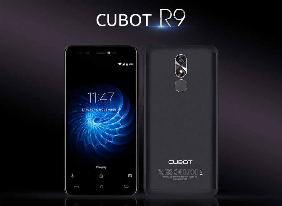 Cubot R9 Black