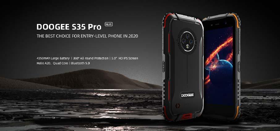 Doogee S35 Pro (4+32Gb) Red