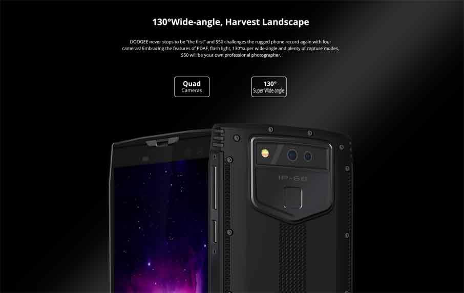 Doogee S50 (6+128Gb) Black