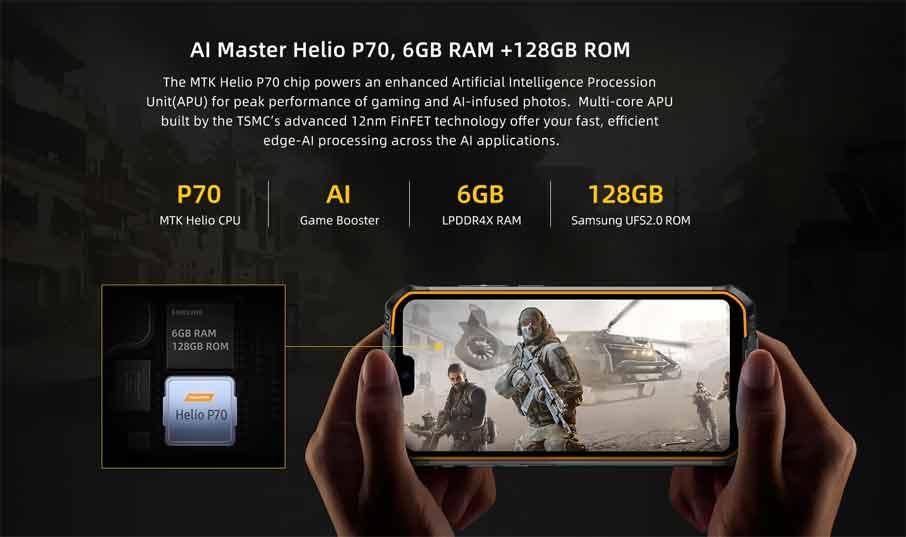Doogee S68 Pro (6+128Gb) Black