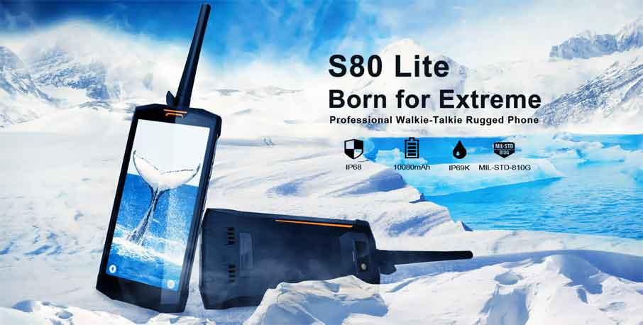 Doogee S80 Lite (4+64Gb) Black