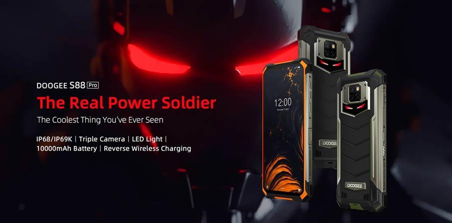 Doogee S88 Pro (6+128Gb) Black