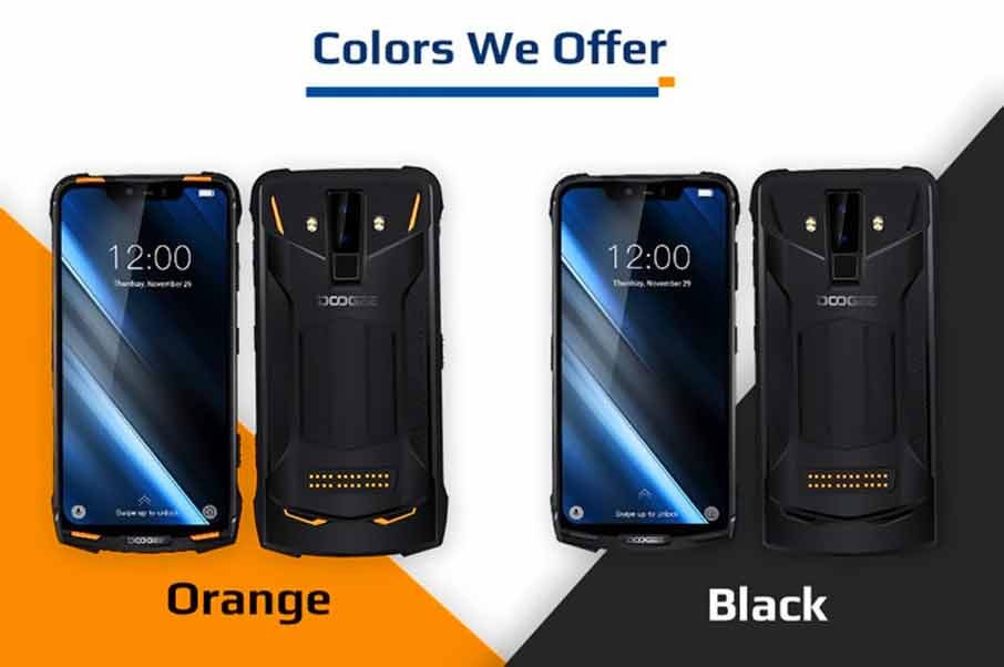 Doogee S90 (6+128Gb) Orange