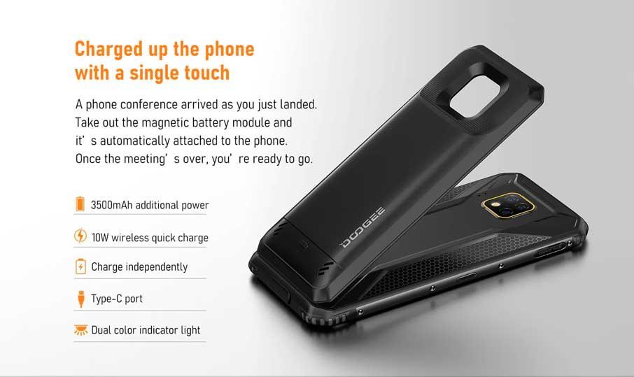 Doogee S95 Pro super GIFT (8+128Gb) модульная версия Black