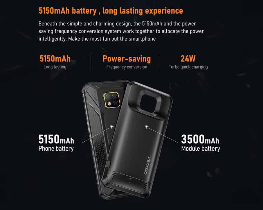 Doogee S95 Pro GIFT (8+128Gb) модуль
