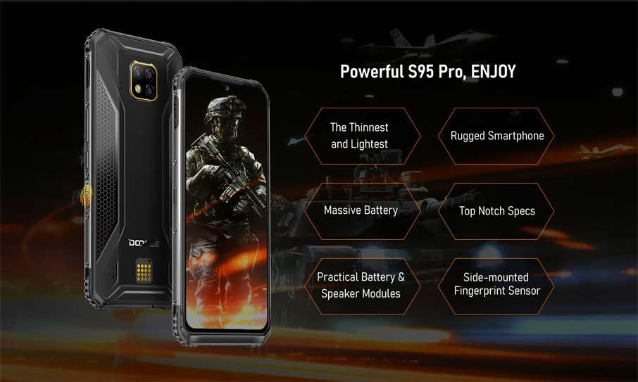 Doogee S95 Pro Black