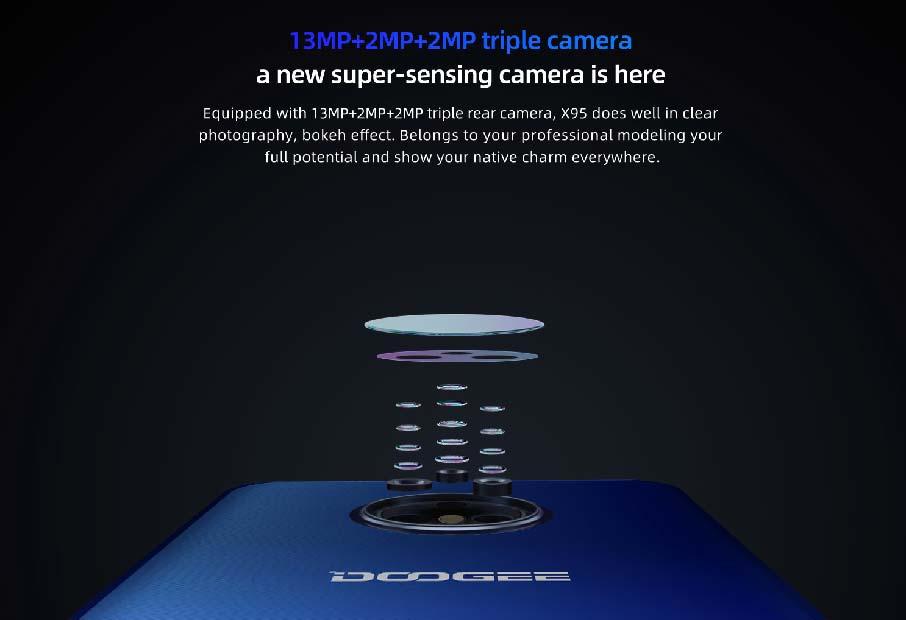 Doogee X95 Blue