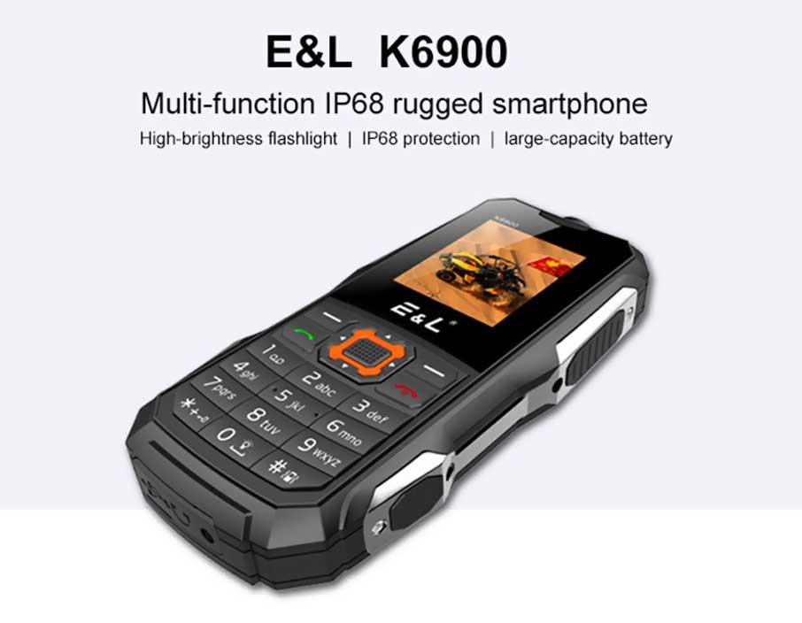 E&L K6900 Red
