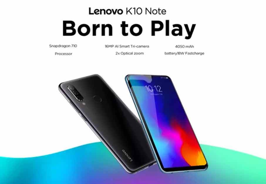 Lenovo K10 Note (6+128Gb) Green