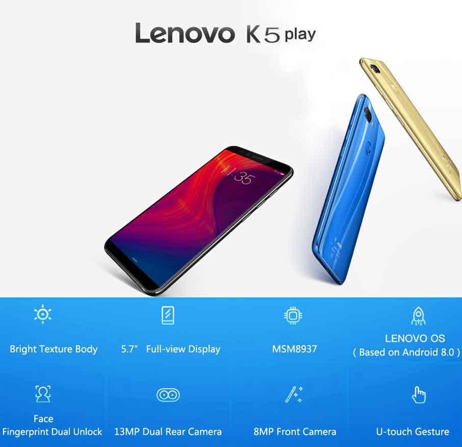 Lenovo K5 Play Black