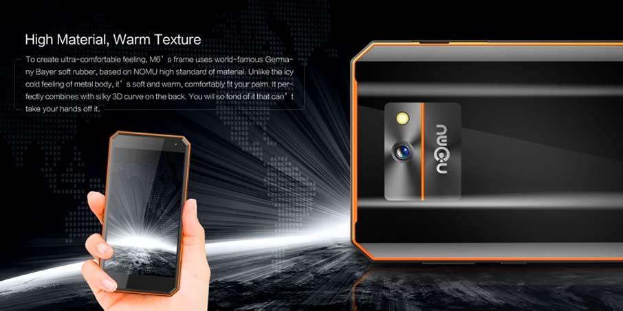 NOMU M6 (3+32Gb) Pro Black