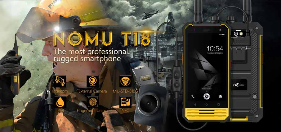 NOMU T18 (3+32Gb) Yellow