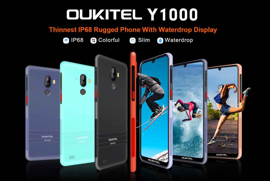 Oukitel Y1000 (4+64Gb) Black