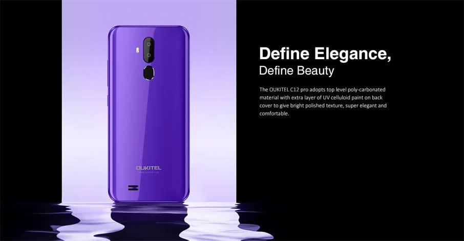 Oukitel C12  Pro (2+16Gb) Purple