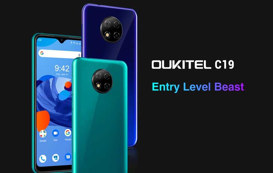 Oukitel C19 (2+16Gb) Black