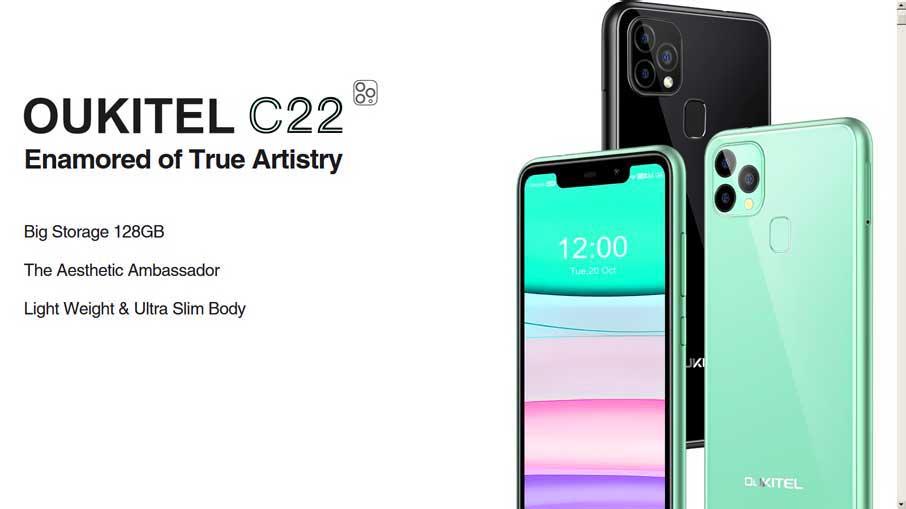 Oukitel C22 (4+128Gb) Green