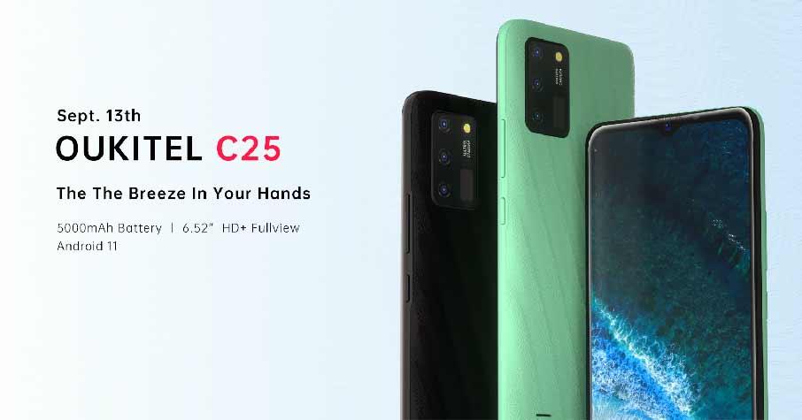 Oukitel C25 (4+32Gb) Black