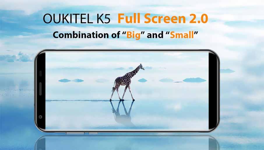 Oukitel K5 White