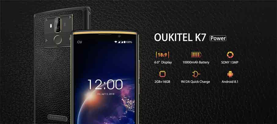 Oukitel K7 Power (2+16Gb) Black