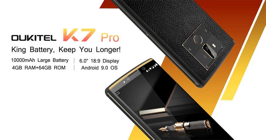 Oukitel K7 Pro (4+64Gb) Black