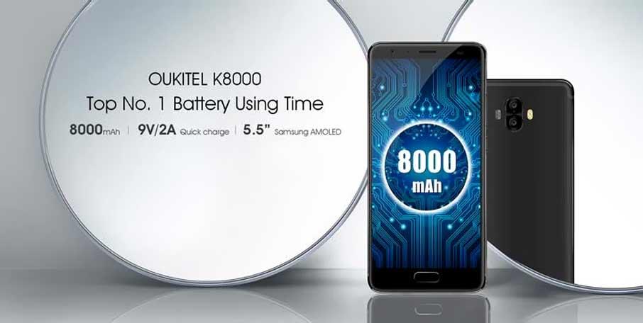 Oukitel K8000 Gold