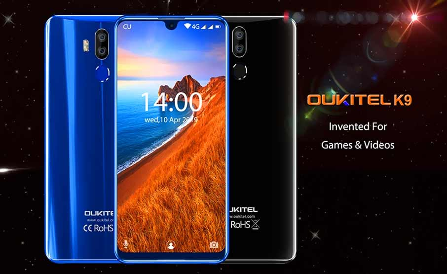 Oukitel K9 (4+64Gb) Black