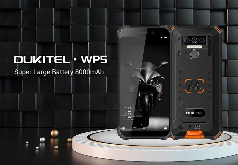 Oukitel WP5 (3+32GB) Black