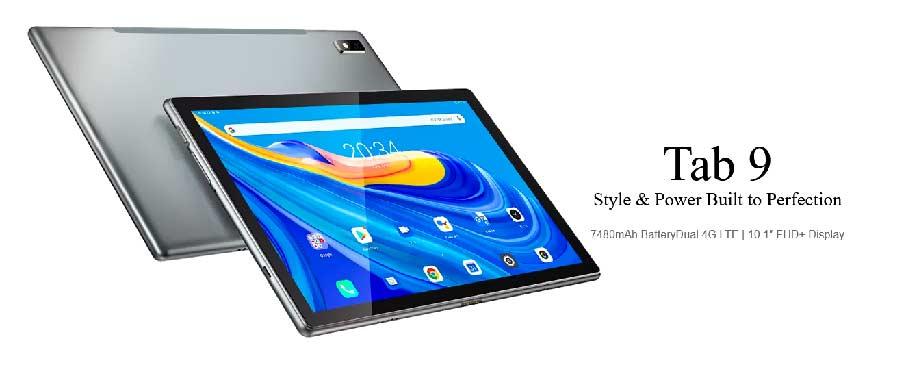 Планшет Blackview Tab 9 (4/64Gb+чехол) LTE Grey