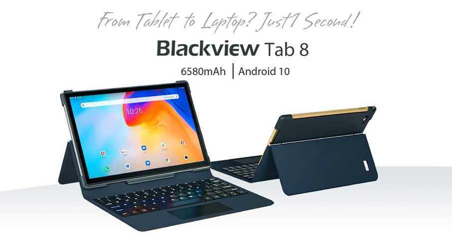Blackview Tab 8 + Keyboard