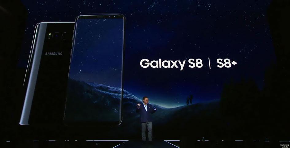 Самсунг Галакси С8 Грей